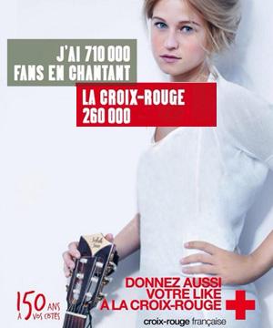 """<p>Campagne de<br /> sensibilisation en<br /> porte à porte<strong> """"La Croix Rouge""""</strong></p>"""