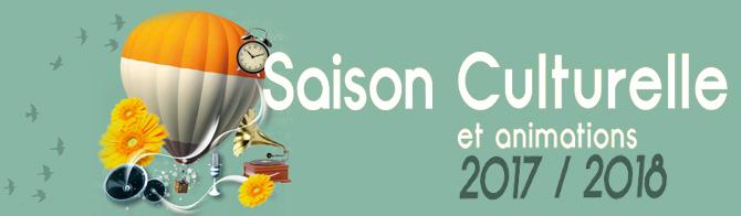 saison culturelle et animations 2017-2018- Saint-Genest-Malifaux