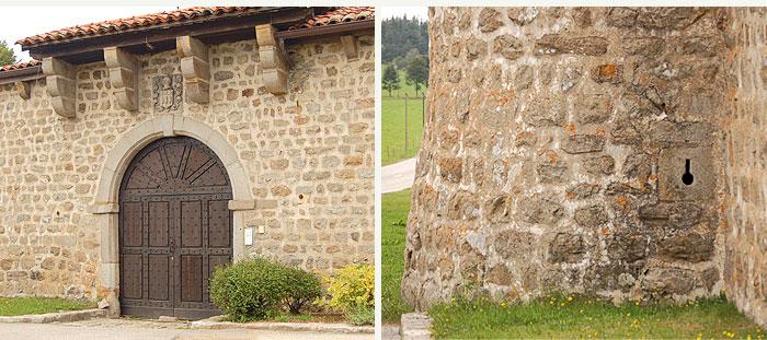 château sur le canton de Saint-Genest-Malifaux