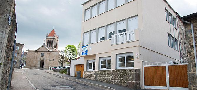 collège privé Saint-Régis à Saint-Genest-Malifaux