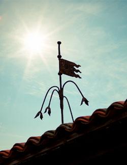 drapeau du château du bois