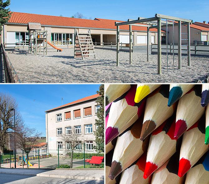 écoles maternelles et primaires à Saint-Genest-Malifaux