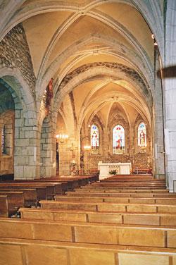 scrupture dans l'église