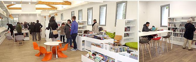 nouvel équipement muncipal : bibliothèque médiathèque
