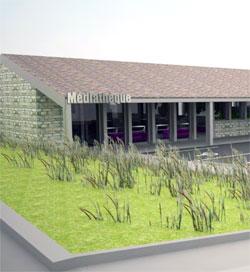 nouvelle médiathèque dans la Loire