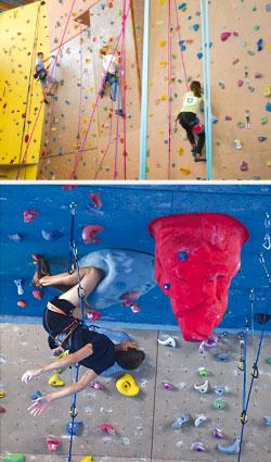 mur d'escalade indoor à Saint-Genest-Malifaux (Loire)