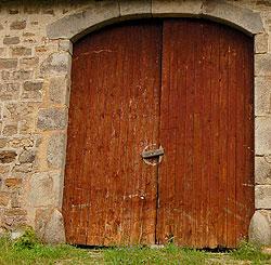 porte de ferme du Haut-Pilat