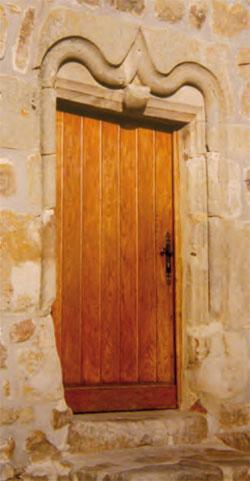 porte de maison au Seuve