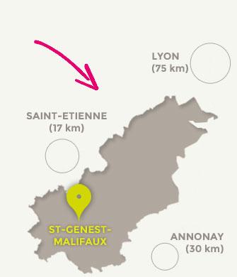 Saint-Genest-Malifaux au cœur du Loire-Sud