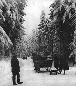 st-genest sous la neige