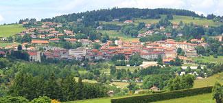 présentation du village de Saint-Genest-Malifaux
