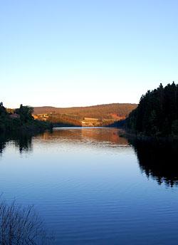 l'eau, les barrages et le Pilat