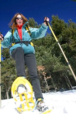 raquette et ski de fond dans le Pilat