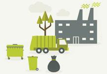 ramasage des ordures ménagères
