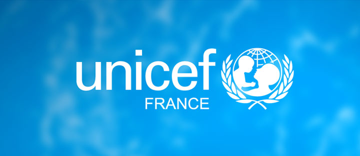 Campagne d'information UNICEF France auprès du grand public