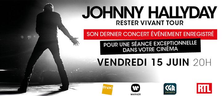 Concert Johnny Hallyday, rester vivant