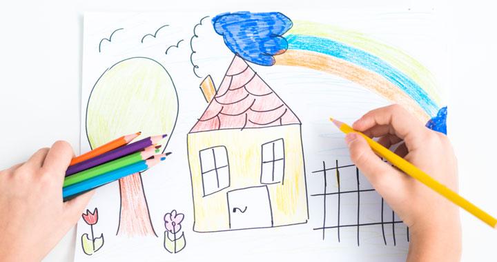 Exposition des œuvres des enfants