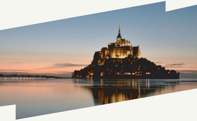 Le Mont Saint-Michel, merveilles d'une baie