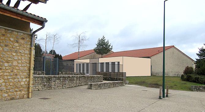 Extension de l'école de l'Étang