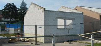 Extension du bâtiment technique du complexe sportif de la Croix de Garry