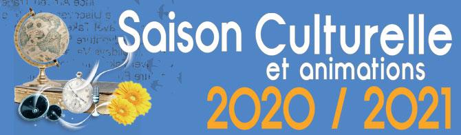 saison culturelle et animations 2020-2021- Saint-Genest-Malifaux