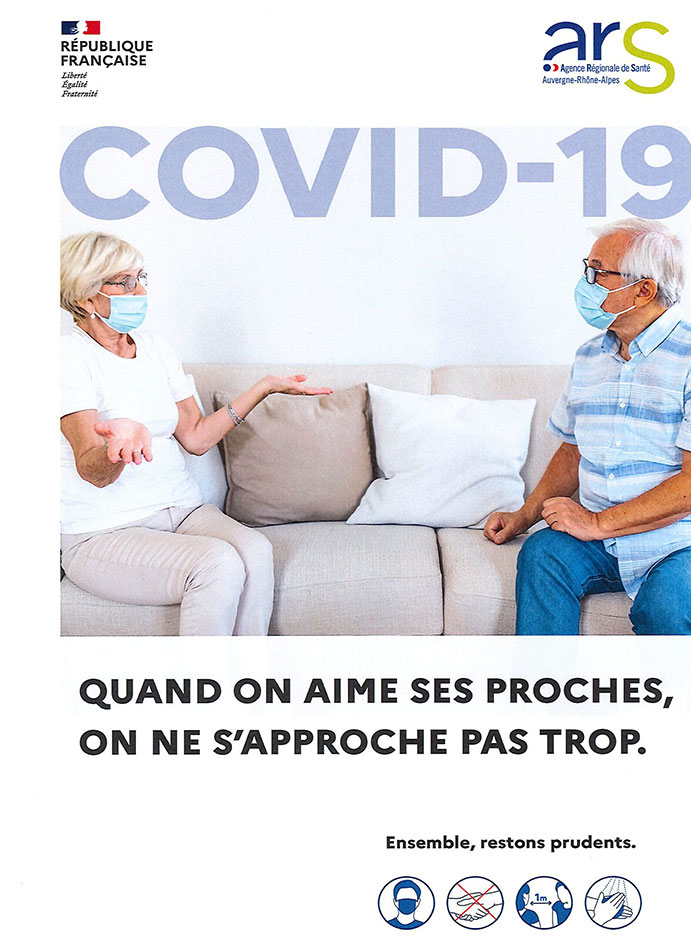 Quand on aime ses proches, on ne s'approche pas trop !