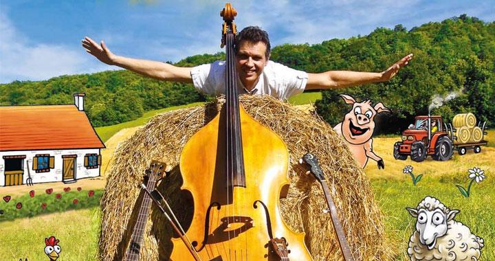 Concert La ferme de pépé Léon de Reo Music